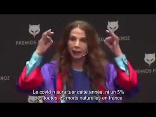 Victoria Abril sur le Covid 19