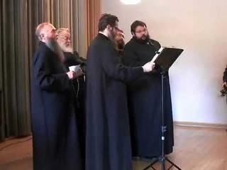 """Сводный староверческий хор """"Унисон"""". Часть 2"""