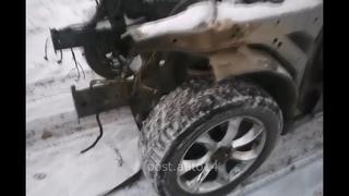 Хулиганы РАЗОБРАЛИ Infiniti за 4 часа!! Пока мужики были в Лесу, машину разобрали на куски