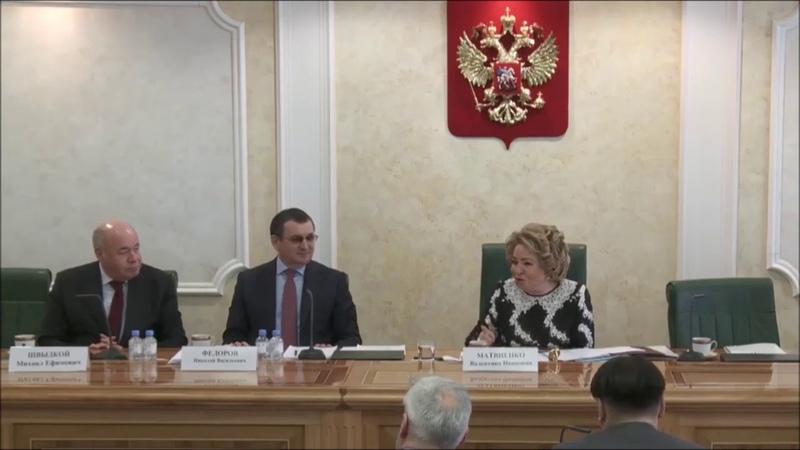 Похвалишь власть попадешь под закон о фейковых новостях Валентина Матвиенко Совфед