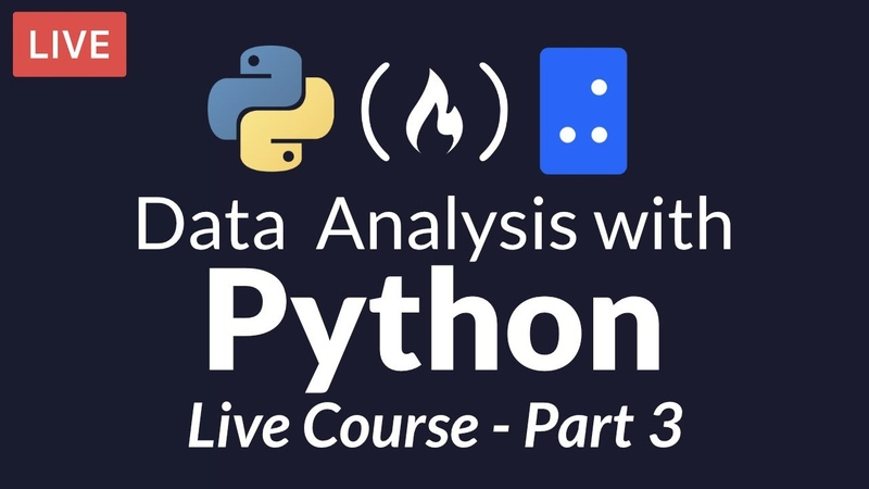 Data Analysis with Python Part 3 of 6 Numerical Computing with Numpy (Live Course)