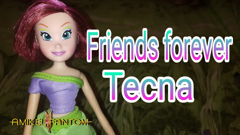 Winx Club FRIENDS FOREVER Tecna doll