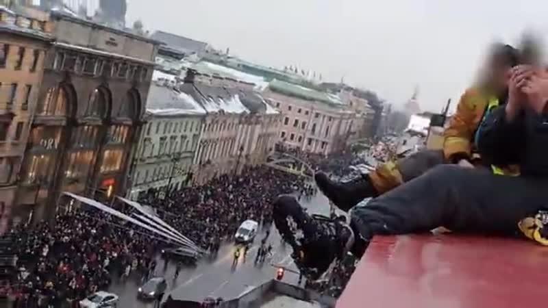 Митинг Санкт Петербург 23 01 21