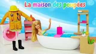 Profession intéressante de Barbie! Vidéo avec poupées pour enfants.