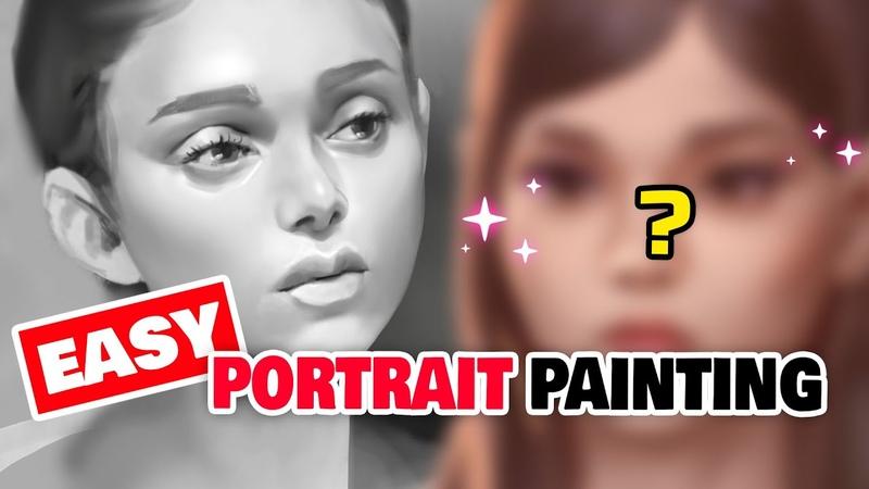 👩🦰 HOW TO PAINT PORTRAITS LIKE A BOSS