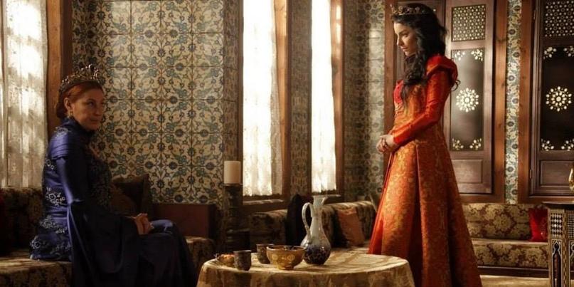 Как Нурбану называла Хюррем султан наедине