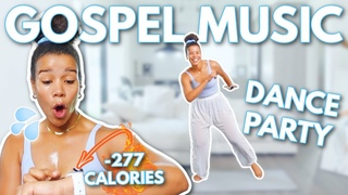Gospel Dance Party Workout (Beginner Home Workout) Full Body, No Equipment   growwithjo