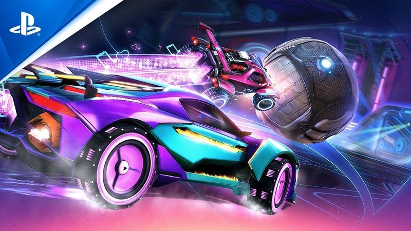 Rocket League Season 2 Trailer PS4