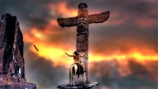 Native American Indian Flute Music - Shamanic Music. Spiritual Vocal