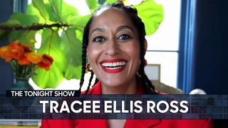 Girlfriends Inspired Tracee Ellis Ross to Launch Her Hair Care Brand | The Tonight Show