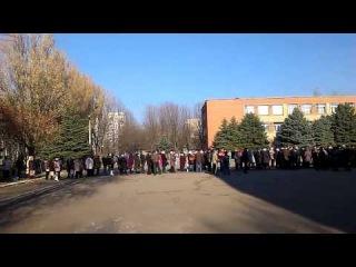 ✔ ОСОБОЕ МНЕНИЕ: Выборы Донецк,  м-н Текстильщик