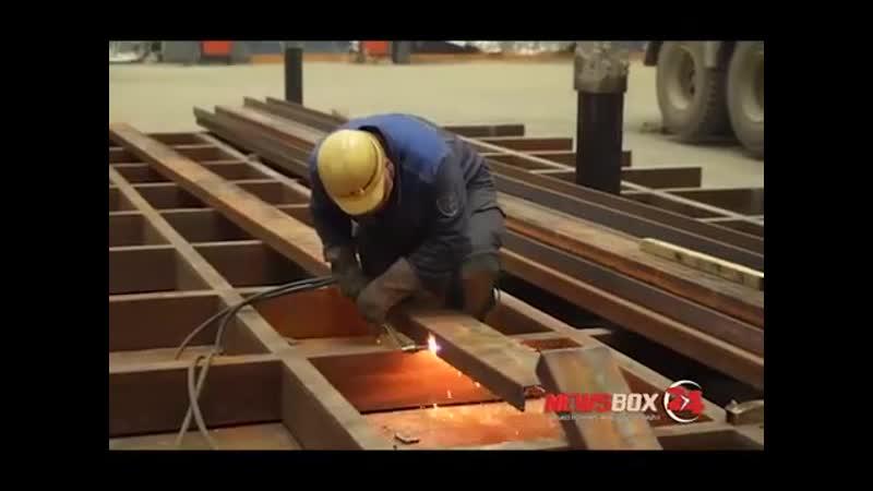 Катерину Великую спустили со стапелей на судостроительном заводе Звезда
