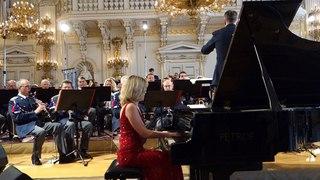 Gershwin Rhapsody In Blue, Olga Vinokur, piano  Prague, Spanish Hall, April, 2017