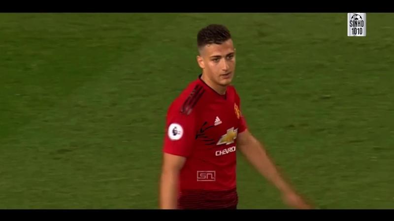 Diogo Dalot vs Stoke City U23 HD 31 08 2018 Debut For Manchester United