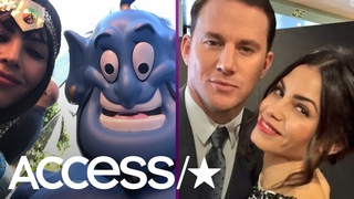 Channing Tatum & Jenna Dewan Go Trick-Or-Treating With Daughter Everly Amid Divorce | Access