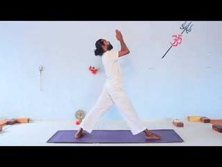 Vinyassa Kriya - Yoga Teacher Training - immune strengthening - balance Root Chakra -7min practice