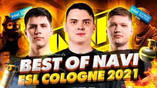 Лучшие Моменты NAVI на IEM Cologne 2021 | CS:GO Movie