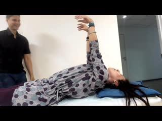 Пример диагностики и лечения рефлекса Моро