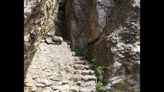 24 Долина Рая. лестница Адамово ложе. Святилище Тавров. июнь 2018  2