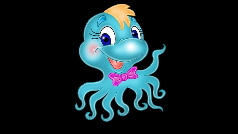 Буги вуги для осьминога Веселые детские песни