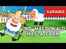 Old MacDonald Had A Farm Karaoke Instrumental Music Only | Nursery Rhymes,