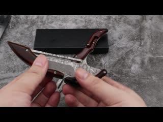 Складной нож с интересным дизайном