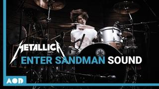 "Metallica - Enter Sandman ""The Black Album Drum Sound"" | Recreating Iconic Drum Sounds"