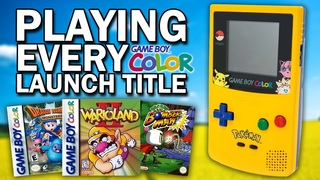Playing EVERY Game Boy Color Launch Game In 2021
