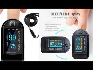 Grin Health Finger Tip Pulse Oximeter OLED Display👨⚕️👩⚕️(हिंदी)