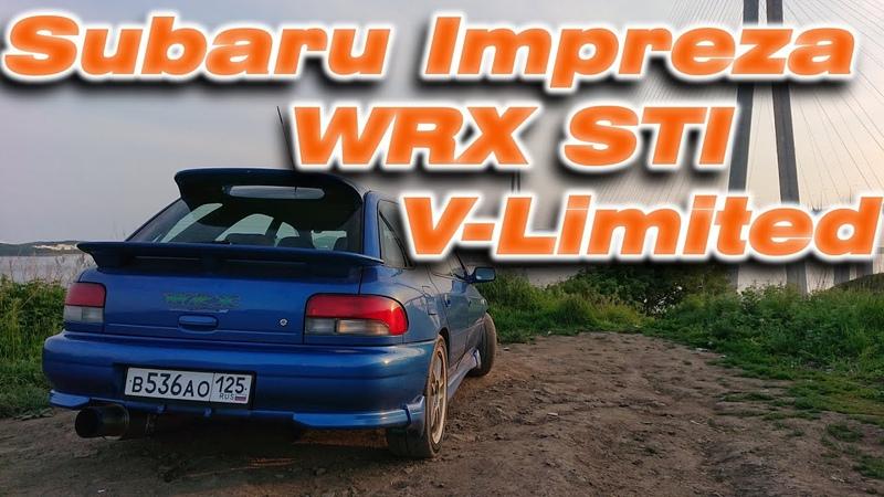 Rally Legend 2001 Subaru Impreza WRX STI V limited 235 of 500 GF8