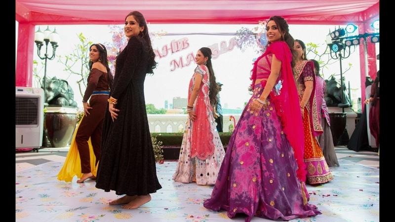 Top Mehendi Mashup 2020 Groom's Sisters Punjabi Wedding Simran Keyz DJ Harshal