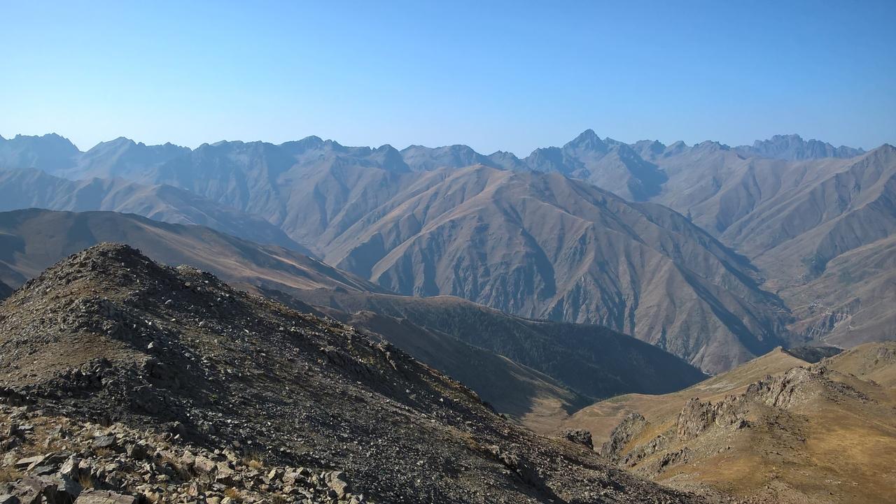 главный хребет Качкар
