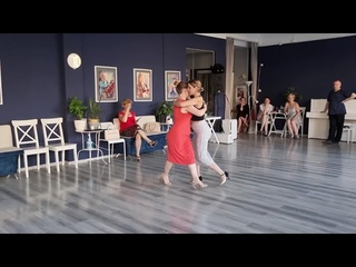 Резюме урока по работе с удвоениями - студия аргентинского танго Libertad г. Санкт-Петербург 25 июня