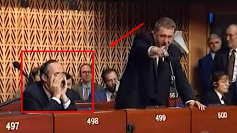 Жириновский ГРОМИТ Европарламент Знаменитая речь 1996 год