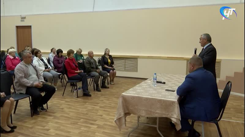 Депутат Госдумы Юрий Бобрышев пообщался с населением Любытинского района