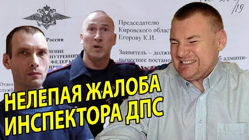 Операция Бестолковый инспектор нелепая жалоба инспектора ДПС Сафонова на решение судьи Сметаниной