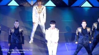 [HD Fancam]130720 TVXQ! World Tour 'Catch Me' in Shanghai - Opening+Rising Sun [By Sakura-Aquarius]