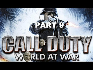 Hitler plays Call Of Duty World At War Part 9 - Ring of Steel