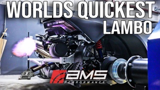 BUILDING THE WORLDS QUICKEST LAMBO | Alpha Omega Drag Huracan & Prime Cut's Chop Shop