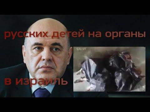 Русских детей на органы в израиль Премьер Мишустин подписал