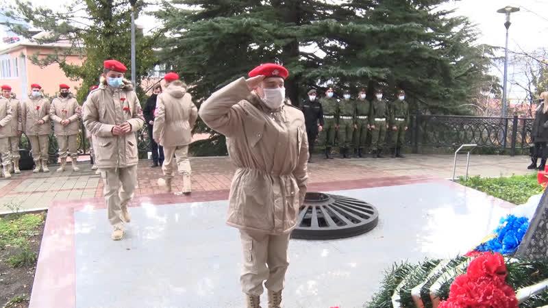 Юнармейцы из Геленджика посетили город Воинской славы Туапсе
