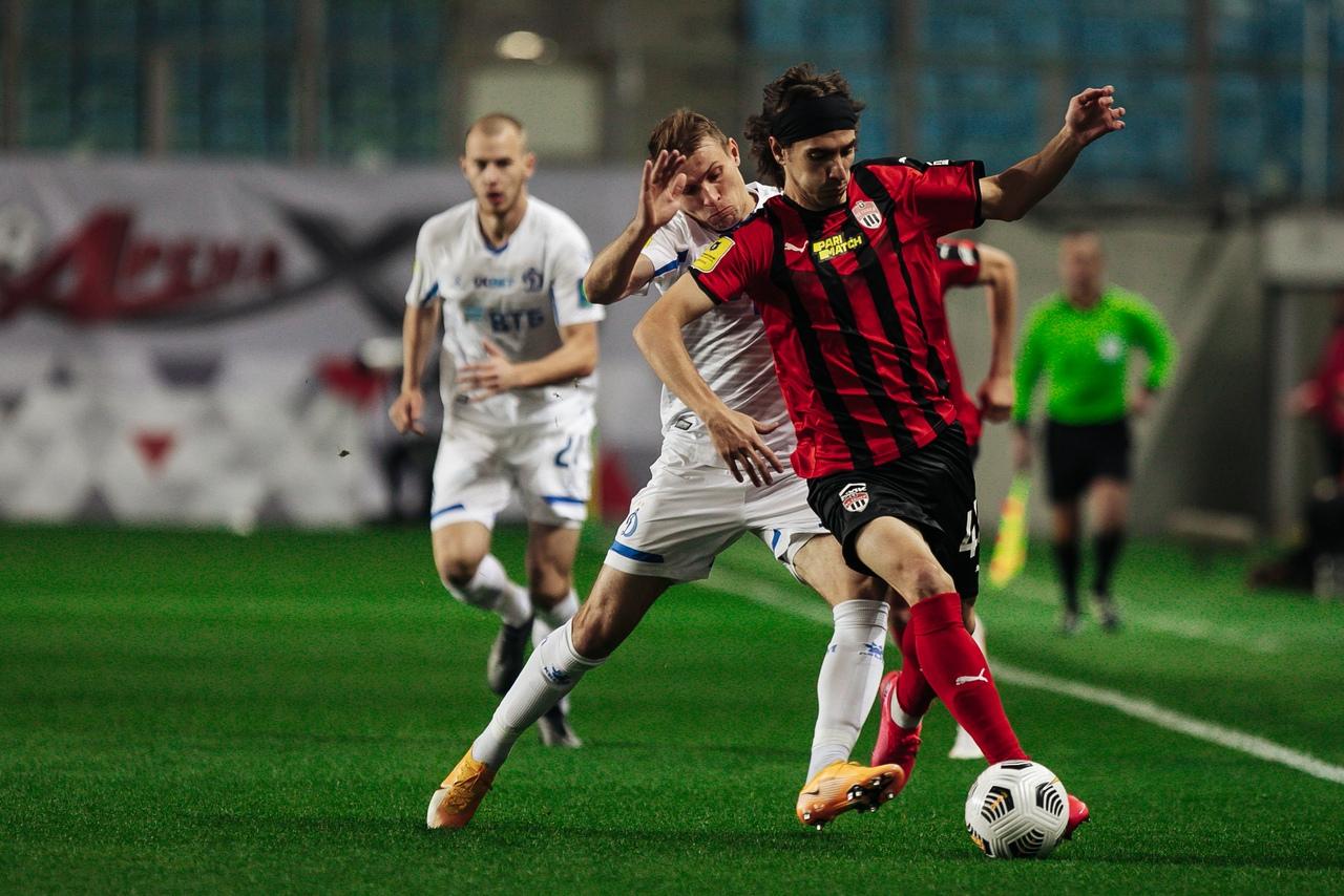 Химки - Динамо, 1:0. Сергей Паршивлюк и Илья Кухарчук