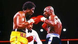 """Marvin Hagler vs Thomas Hearns // """"The War"""" (Highlights)"""