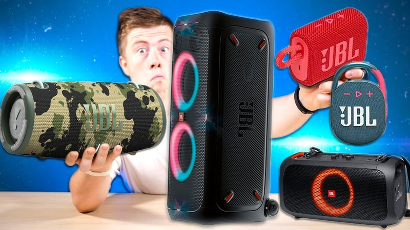 НОВИНКИ JBL 2020 JBL Xtreme 3 JBL GO 3 и JBL Clip 4 Мощные JBL PartyBox 310 и PartyBox One The Go