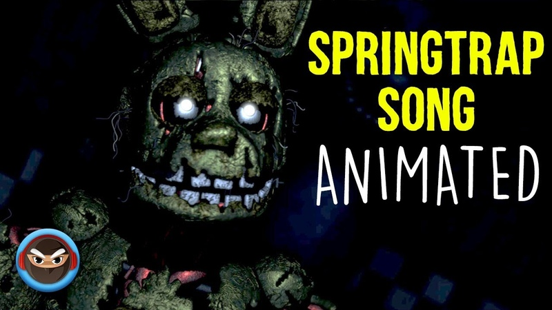 【SFM】 FNAF SPRINGTRAP SONG Just an Attraction