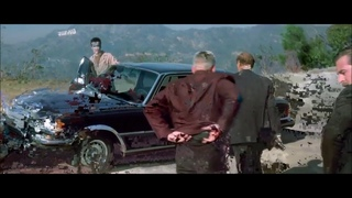 Censored Tailgating Scene From Lost Highway Featuring Mercedes-Benz W116