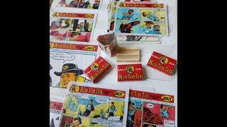 Unwrapping La Giulia Rin Tin Tin Bubble Gum ~ chewing gum~guma mestecat ~ surprize guma Rin Tin Tin
