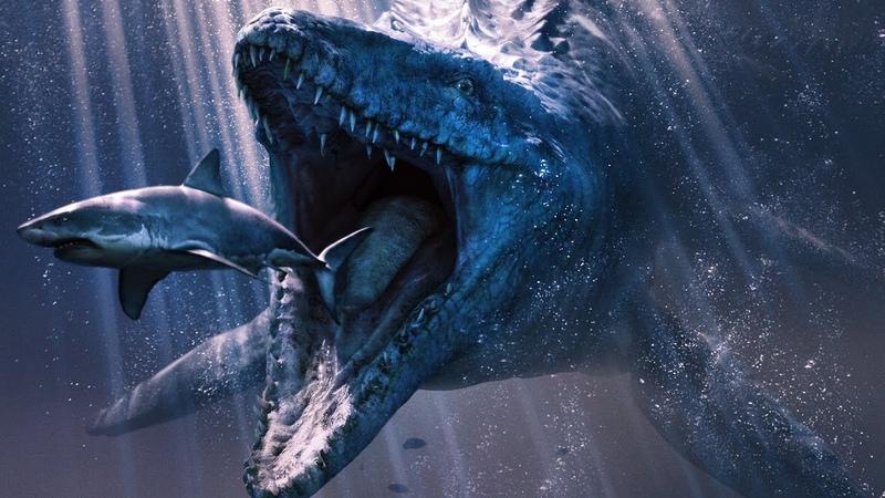 СРАЖЕНИЯ ДИНОЗАВРОВ Мозазавр против ВСЕХ