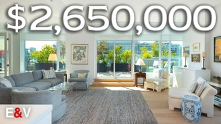 Inside this $2.7 Million Sub-Penthouse in Downtown Vancouver | Penthouse Tour