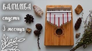 КАЛИМБА СПУСТЯ 3 МЕСЯЦА   Импровизация на калимбе под гитару   Kalimba